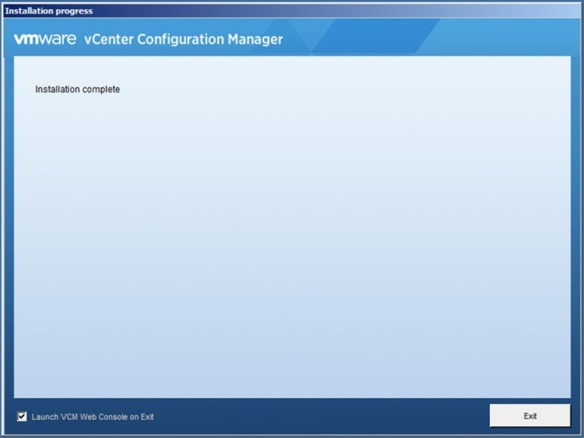 vCenter Configuration Manager – Installation | Adventures in