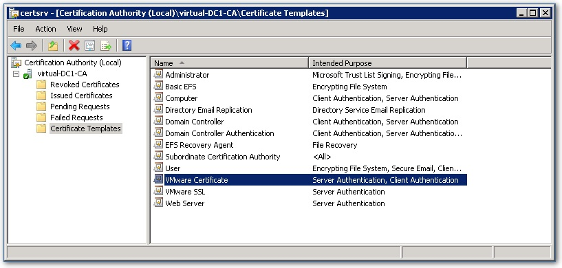 Implementing ca signed ssl certificates with vsphere 5x part 2 figure 3 yadclub Choice Image